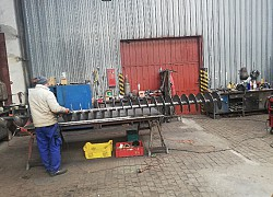 Šnekový dopravník priem.400mm